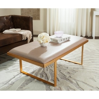 Safavieh Millie Loft Taupe/Gold Coffee Table