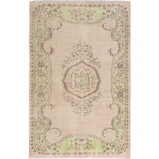 ecarpetgallery Anatolian Sunwash Ivory Wool Rug (5'7 x 8'7)