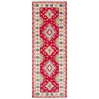 ecarpetgallery Royal Kazak Red Wool Rug (2'10 x 7'11)