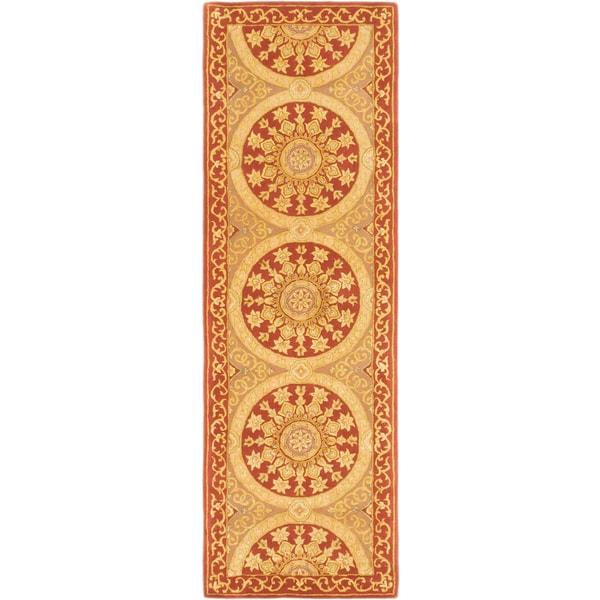 ecarpetgallery Classic Ht Brown Wool, Silk Rug (2'7 x 8'0)