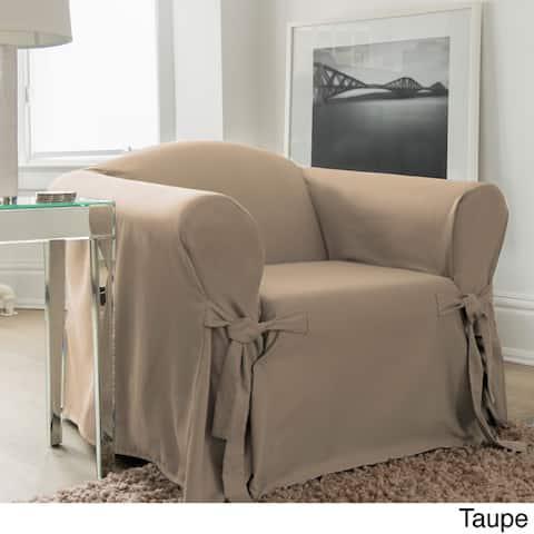 Muskoka Grey Chair Slipcover