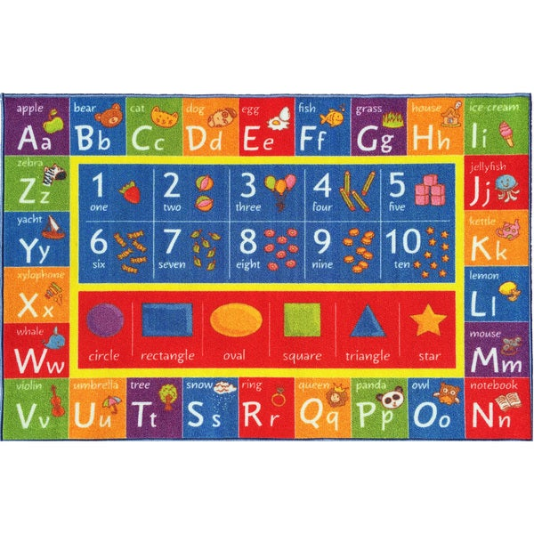 Shop KC Cubs Playtime Collection ABC Alphabet, Numbers, and