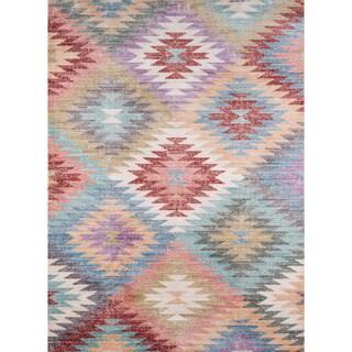 Momeni Rustic Romance Multicolor Rug - 5' x 8'