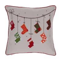Christmas Stocking Throw Pillow