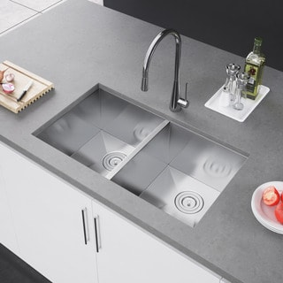 stainless steel kitchen sinks for less overstock rh overstock com