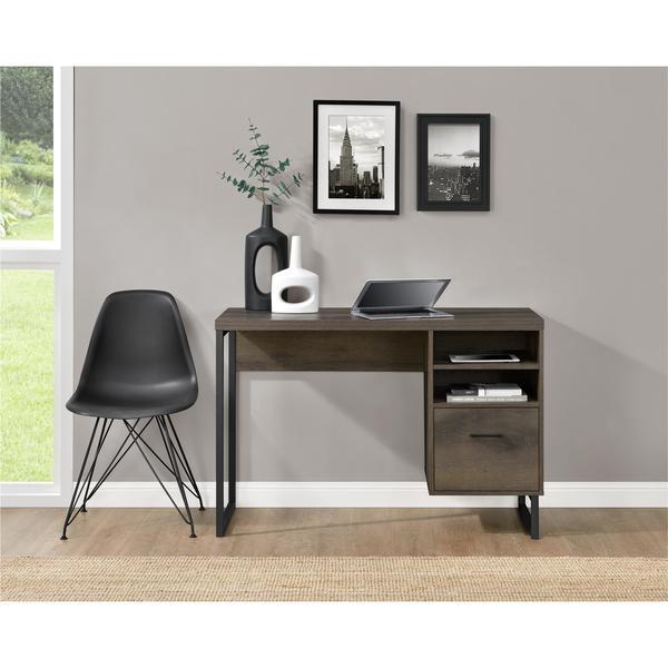 Shop Carbon Loft Franklin Mocha Oak Desk