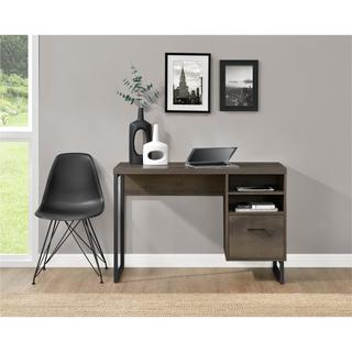 Carbon Loft Franklin Mocha Oak Desk