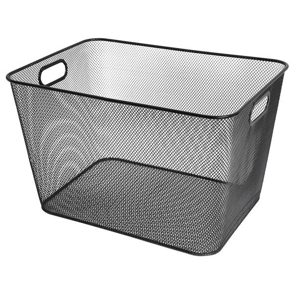 Merveilleux Black Mesh Storage Basket