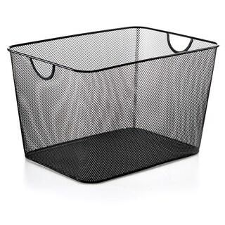 Black Mesh Storage Basket