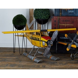 Studio 350 Metal Airplane 60 inches wide, 24 inches high