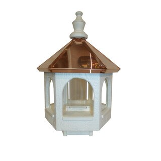 Copper top Roof Gazebo Bird Feeder