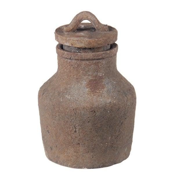 Privilege Red Ceramic Large Jar