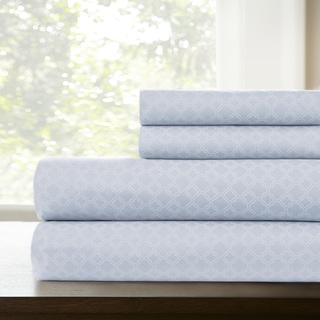 Amrapur Overseas Lattice Printed 4-Piece Sheet Set
