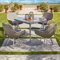 Havenside Home Vincent 5-piece Outdoor Dining Set