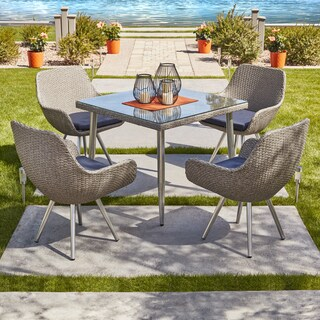Strick & Bolton Vincent 5 Piece Outdoor Dining Set