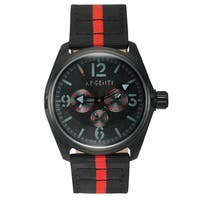 Argenti Modernistic Nylon Men's Watch Multi-Textured Dial Design