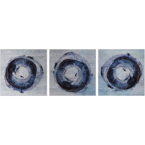 Marmont Hill - Handmade Dark Rings Triptych