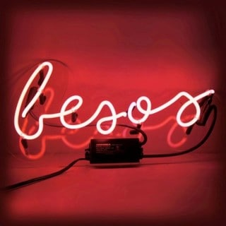 Oliver Gal Besos Neon Sign