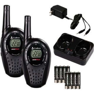 Cobra 20-mile 2-way Radio Value Pack (Batteries Not Included)