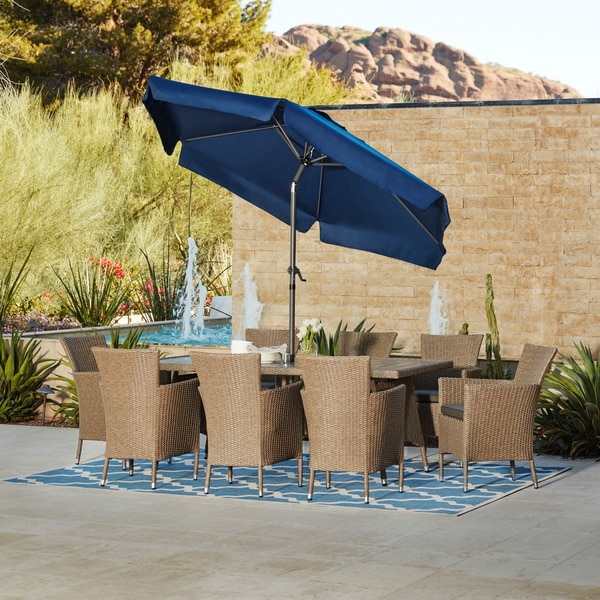 Havenside Home Avery Outdoor 9-piece Dining Set