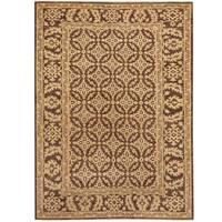 Herat Oriental Afghan Hand-knotted Khotan Wool Rug - 4' x 5'5