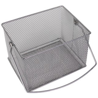 Link to YBM Home Stainless Steel Rectangle Mesh Condiment Caddy and Utensil/ Napkin Holder Similar Items in Kitchen Storage