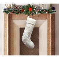 Snowflakes Stocking