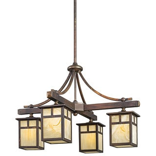 Kichler Lighting Alameda Collection 4 Light Canyon View Indoor/Outdoor  Chandelier