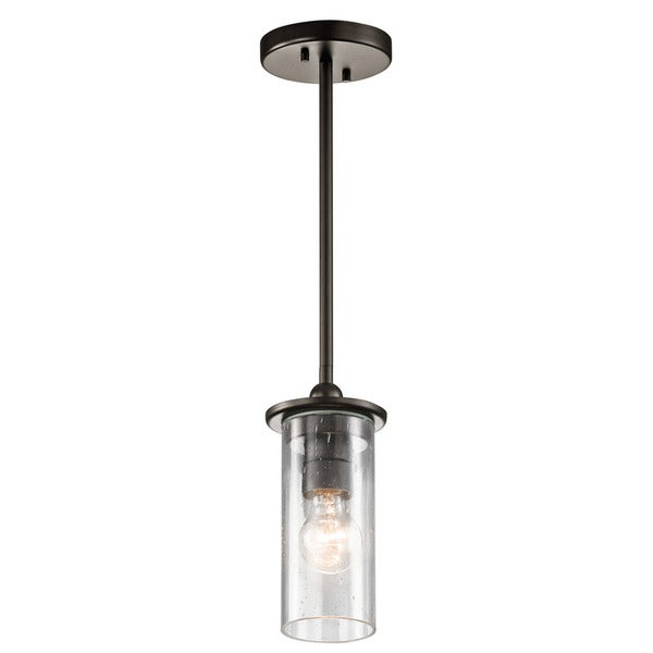Kichler Lighting Kayde Collection 1-light Olde Bronze Mini Pendant