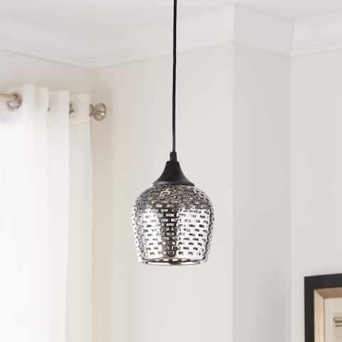 Kichler Lighting Annata Collection 1-light Black Mini Pendant