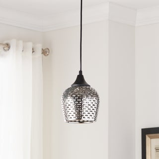 Kichler Lighting Annata Collection 1-light Black Mini Pendant