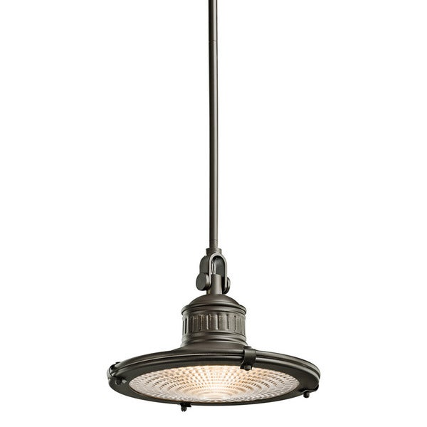 Kichler Lighting Sayre Collection 1-light Olde Bronze Pendant