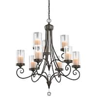 Kichler Lighting Lara Collection 9-light Shadow Bronze Chandelier