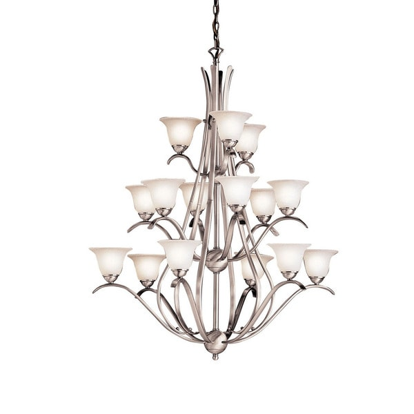 Kichler Lighting Dover Collection 15-light Brushed Nickel Chandelier