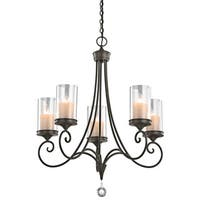 Kichler Lighting Lara Collection 5-light Shadow Bronze Chandelier