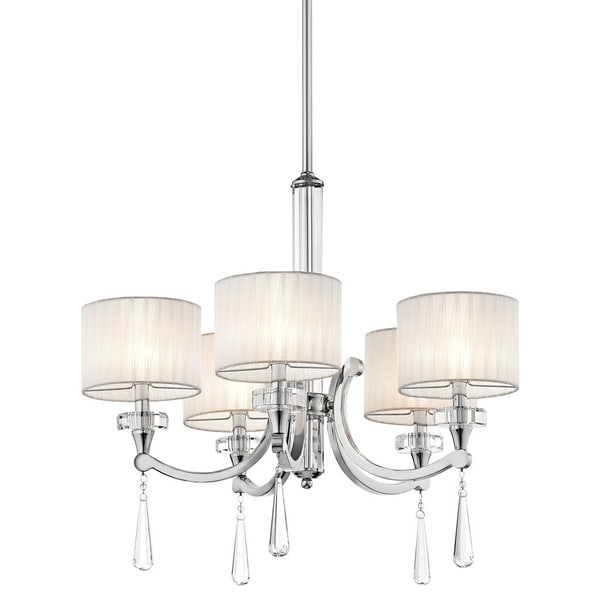 Kichler Lighting Parker Point Collection 5-light Chrome Chandelier