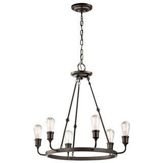 Kichler Lighting Lucien Collection 6-light Olde Bronze Chandelier