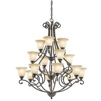 Kichler Lighting Camerena Collection 16-light Olde Bronze Chandelier