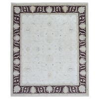 FineRugCollection Peshawar Beige/ Brown Wool Handmade Rug (8'10 x 9'6)