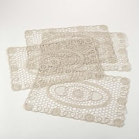 Lace Traycloth/Placemat Set of 4