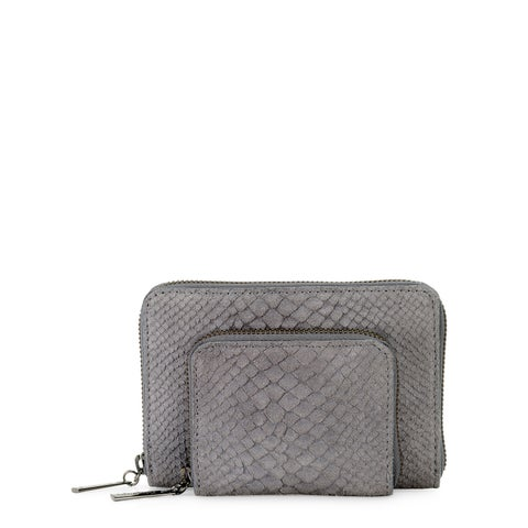 Handmade Phive Rivers Women s Leather Wallet (Grey, PR1224) - One size (Italy)