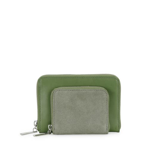 Handmade Phive Rivers Women s Leather Wallet (Green, PR1225) - One size (Italy) - One size