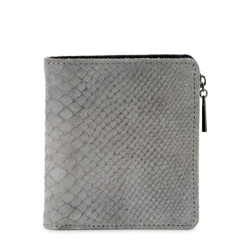 Handmade Phive Rivers Women s Leather Wallet (Grey, PR1228) - One size (Italy)