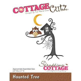 CottageCutz Die-Haunted Tree