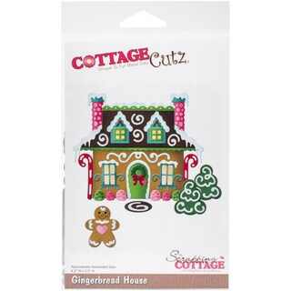 CottageCutz Die-Gingerbread House