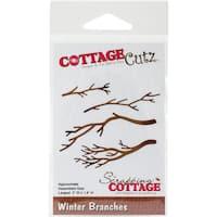 """CottageCutz Die-Winter Branches, 3""""X1.4"""""""