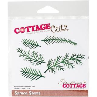 """CottageCutz Die-Spruce Stems, 3""""X1.2"""""""