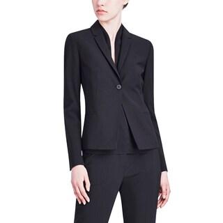 Elie Tahari Women's Alma Black Wool Blazer