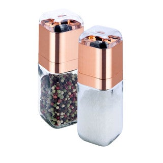 Spice Mill Set, 2pk Rose Gold