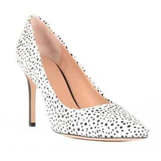 Halston Heritage Courtney Pony Hair Dalmatian Pumps